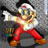 +Fire Mario+ by hope-n-forever