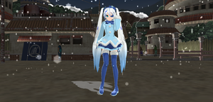 NEWCOMER:DT Snow Miku 2012 Finished by SenseiTag