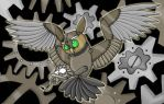 Mechanical Owl by Electric-Mongoose