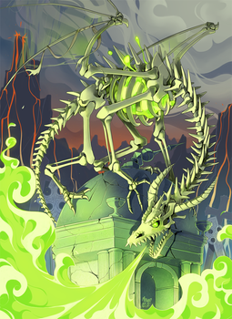 Bone Dragon by meago