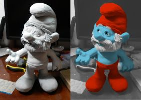 papa smurf by antucoss