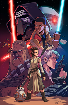 Force Awakens by DerekLaufman