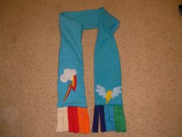 Wonderbolts Rainbow Dash Scarf 1 by mastertortilla27
