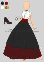 [closed] Victorian Inspired Outfit by IdunaHayaDesigns
