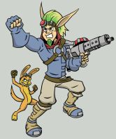 Jak and Daxter - Colors by Marvelousboy