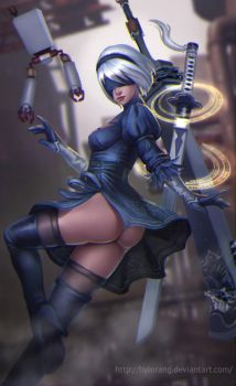 Nier Automata by bylorang