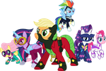 The Power Ponies by 90Sigma