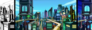 TMNT: FF 7.5 Lost BG 3 by Nexxorcist
