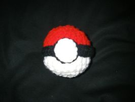 Pokeball Crochet by Tirrivee