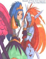 BoF2 - Angel and Devil by StaciNadia