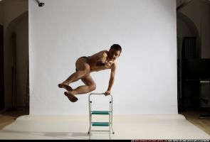 Dynamic Photos :: Jumping over a chair by comicReference