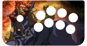 gouki fightstick skin by ice-vision