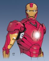 Iron Man Art by kingjoeg