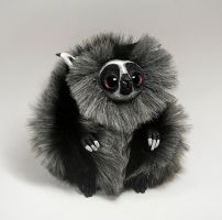 Lemur Spirit Furry Creature by RamalamaCreatures