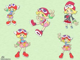 Amitie - colorful by AkiDIDmorning