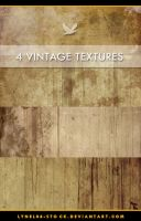 4 Grunge Texture Pack by lynel04-stock