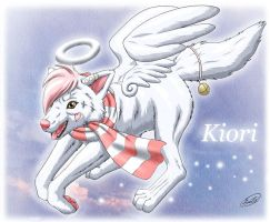 Kiori : White Angel Wolf by SheltieWolf