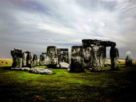Old Stonehenge by RainbowGambler