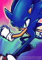 Sonic Graffiti by goldhedgehog