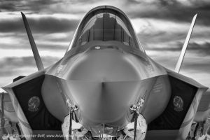 Face to Face with Stealth by aviationbuff