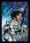 Princess Leia Colours by David Ocampo by TheInkPages