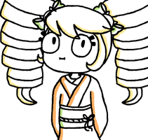 what the heck happening to her hair? by cyaniist