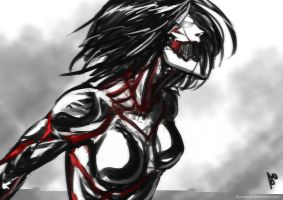 Armored Titan Mikasa by Accuracy0
