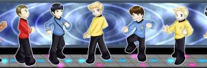 Dance! Dance! Revolution! Star Trek by KatsuyaCrimson