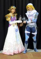 Sheik and Zelda at Anime Banzai 2013 by VFire