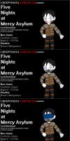 Five Nights at Mercy Asylum by AirSharkSquad