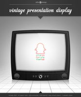 Vintage Presentation Display by elddes