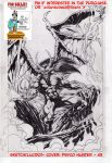 On Sale:  cover sketch A- A3-Psyco Hunter- lucido by PinoRinaldi