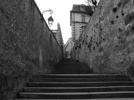 Stairs near Chartres by j-dub