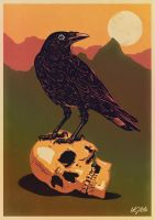 THE CROW AND THE SKULL by UCArts