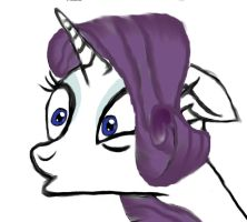 Rarity: My Fourth Piece -:Finished:- (Improved) by Scarred-Brit-VG