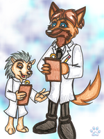 The scientists by jayfoxfire