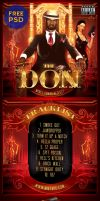 Free Mixtape Cover PSD Template - The Don by MadFatSkillz