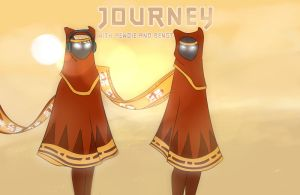 Journey with Pewds and Bengt by MissLivYoung