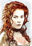 Rachel Hurd-Wood mini-portrait by whu-wei