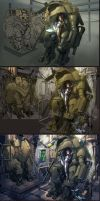 Mech Pilot REDUX Step By Step by billydallaspatton