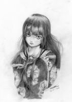 Enma Ai Tattoo for a friend by X-Seion-X