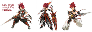 Elsword - So I swapped the job changes for Elboy by MoonStar34