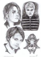 Gerard Way by tizwoz5