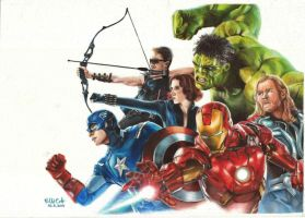 The Avengers by Colt1202