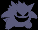 Realistic Shiny Gengar by Artrookie--yup
