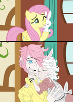 FlutterNice and Angie [GENDERBEND.] by Leaved