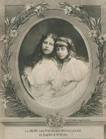 Prinzessinnen Marie Loise and Sophie d`Orleans by OTMARomanov