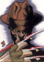Freddy Krueger PSC by Foreman by chris-foreman