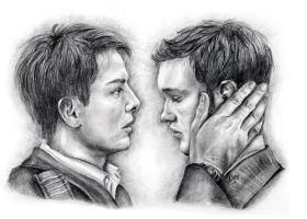 Jack and Ianto torchwood by deedeedee123