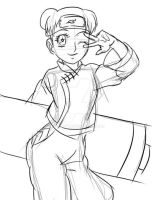 Commission for Oustins - Sketch TenTen by Epistafy